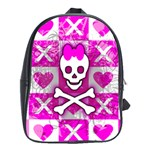 Skull Princess School Bag (XL)