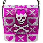 Skull Princess Flap closure messenger bag (Small)