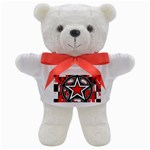 Star Checkerboard Splatter Teddy Bear