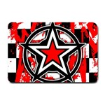 Star Checkerboard Splatter Small Doormat