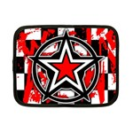 Star Checkerboard Splatter Netbook Case (Small)