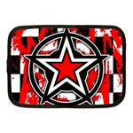 Star Checkerboard Splatter Netbook Case (Medium)