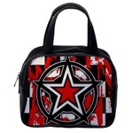 Star Checkerboard Splatter Classic Handbag (One Side)