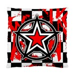 Star Checkerboard Splatter Cushion Case (Two Sides)