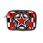 Star Checkerboard Splatter Coin Purse
