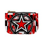 Star Checkerboard Splatter Mini Coin Purse
