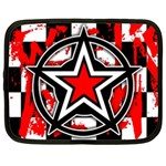 Star Checkerboard Splatter Netbook Case (XXL)