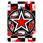 Star Checkerboard Splatter Removable Flap Cover (Large)