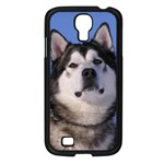 Use Your Photo Alaskan Malamute Dog Samsung GALAXY S4 I9500/ I9505 (Black)