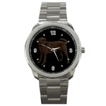 Use Your Dog Photo Labrador Sport Metal Watch