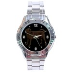 Use Your Dog Photo Labrador Stainless Steel Analogue Men's Watch
