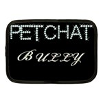 petchat bully Netbook Case (Medium)