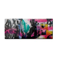 Graffiti Grunge Hand Towel from ArtsNow.com Front
