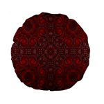 Red Mystic 15  Premium Round Cushion  from ArtsNow.com Back