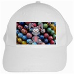 Easter Egg Bunny Treasure White Baseball Cap