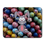 Easter Egg Bunny Treasure Small Mouse Pad (Rectangle)