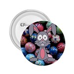 Easter Egg Bunny Treasure 2.25  Button