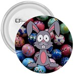 Easter Egg Bunny Treasure 3  Button