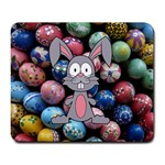 Easter Egg Bunny Treasure Large Mouse Pad (Rectangle)