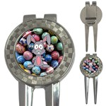 Easter Egg Bunny Treasure Golf Pitchfork & Ball Marker