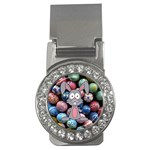 Easter Egg Bunny Treasure Money Clip (CZ)