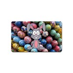 Easter Egg Bunny Treasure Magnet (Name Card)