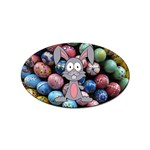 Easter Egg Bunny Treasure Sticker 100 Pack (Oval)