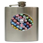 Easter Egg Bunny Treasure Hip Flask