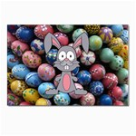 Easter Egg Bunny Treasure Postcard 5  x 7