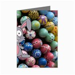 Easter Egg Bunny Treasure Mini Greeting Card (8 Pack)