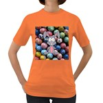 Easter Egg Bunny Treasure Women s T-shirt (Colored)