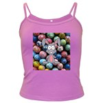 Easter Egg Bunny Treasure Spaghetti Top (Colored)