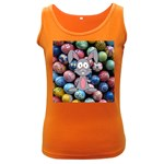 Easter Egg Bunny Treasure Women s Tank Top (Dark Colored)