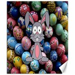 Easter Egg Bunny Treasure Canvas 8  x 10  (Unframed)