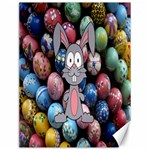 Easter Egg Bunny Treasure Canvas 12  x 16  (Unframed)