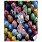 Easter Egg Bunny Treasure Canvas 16  x 20  (Unframed)