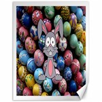 Easter Egg Bunny Treasure Canvas 18  x 24  (Unframed)