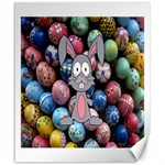 Easter Egg Bunny Treasure Canvas 20  x 24  (Unframed)