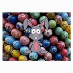 Easter Egg Bunny Treasure Glasses Cloth (Large)