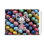 Easter Egg Bunny Treasure Small Door Mat