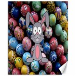 Easter Egg Bunny Treasure Canvas 11  x 14  (Unframed)