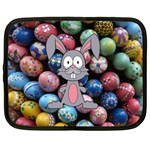 Easter Egg Bunny Treasure Netbook Sleeve (Large)