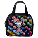 Easter Egg Bunny Treasure Classic Handbag (One Side)