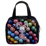Easter Egg Bunny Treasure Classic Handbag (Two Sides)