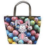 Easter Egg Bunny Treasure Bucket Handbag