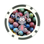 Easter Egg Bunny Treasure Poker Chip (10 Pack)