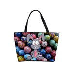 Easter Egg Bunny Treasure Large Shoulder Bag