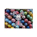 Easter Egg Bunny Treasure Cosmetic Bag (Large)