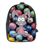 Easter Egg Bunny Treasure School Bag (Large)