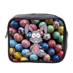 Easter Egg Bunny Treasure Mini Travel Toiletry Bag (Two Sides)